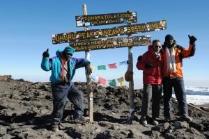 Adan Caraballo summit Kilimanjaro