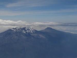 My Kilimanjaro aerial view