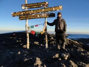Luke Fostvedt Summit Kilimanjaro