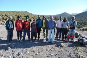 Kilimanjaro support team