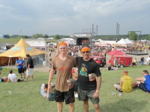 After the Minnesota Tough Mudder Luke Fostvedt