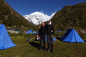 Luke Fostvedt Jomolhari base camp