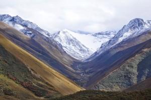 bhutanese mountain valley
